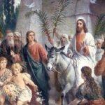 Inicio de Semana Santa: El Domingo de Ramos y la entrada triunfal de Jesús en Jerusalem