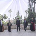 Cristianos, musulmanes y judíos se unen en Jerusalem para rezar por el fin del Coronavirus