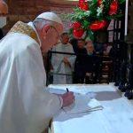 El Papa Francisco llamó al diálogo entre las principales religiones: «El amor de Dios es el mismo para cada persona sea de la religión que sea»